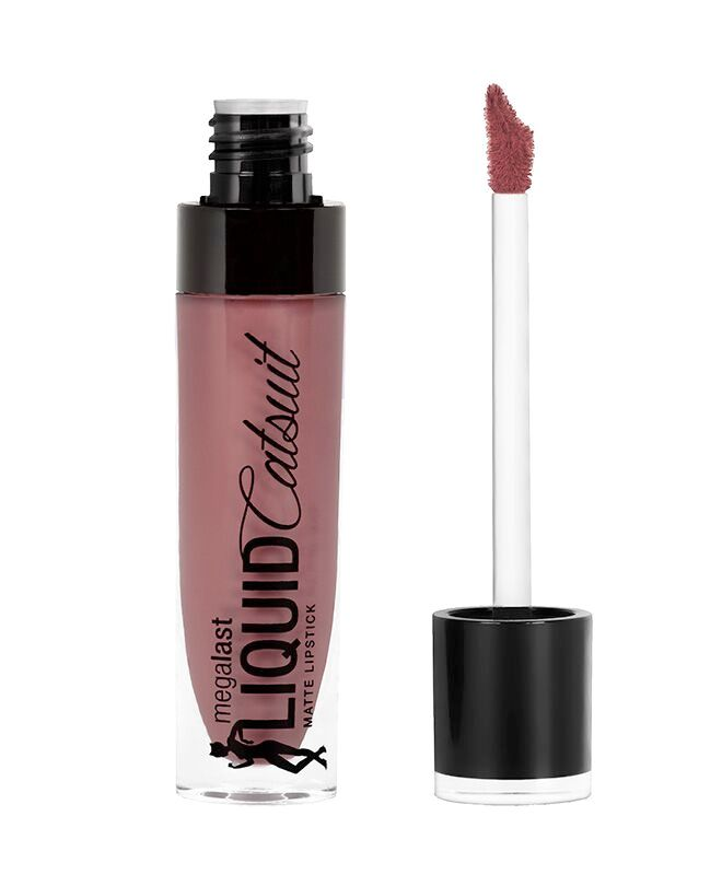 Wet n Wild MegaLast Liquid Catsuit Matte Lipstick- Rebel Rose (12-16)