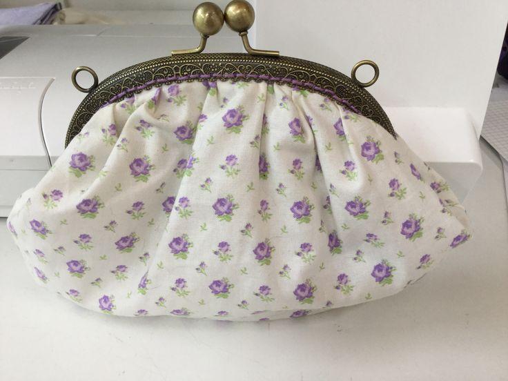 "Metal frame pouch (corso"" vintage bag"" di Roberta De Marchi)"