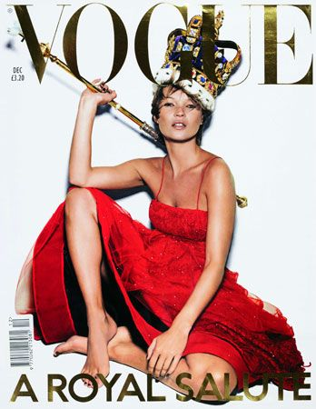 Kate Moss Vintage Cover #VOGUE
