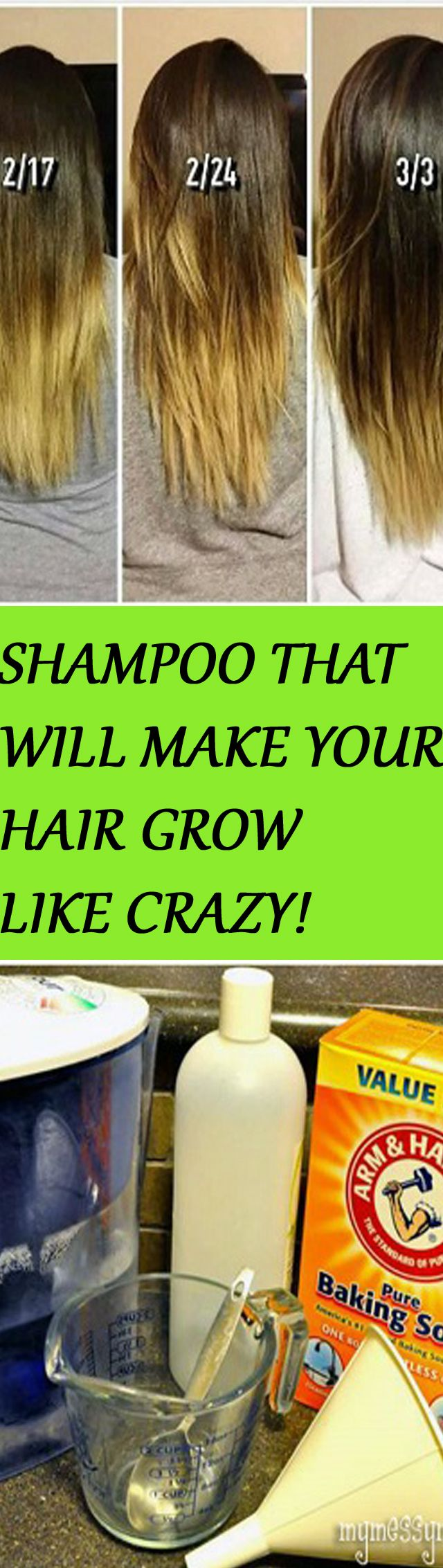 THIS NATURAL SHAMPOO WILL MAKE YOUR HAIR GROW LIKE CRAZY!