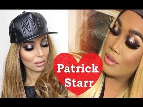 Patrick Starr full glam full coverage barbie makeup look| Yasmine Alom - YouTube