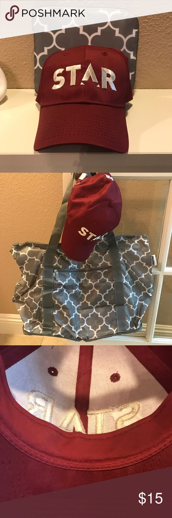 Star Baseball Cap and Rume Foldable Zippered Bag Fox TV show Star Hat and foldable bag. Brand new. Never worn or used. Rume Bags Shoulder Bags