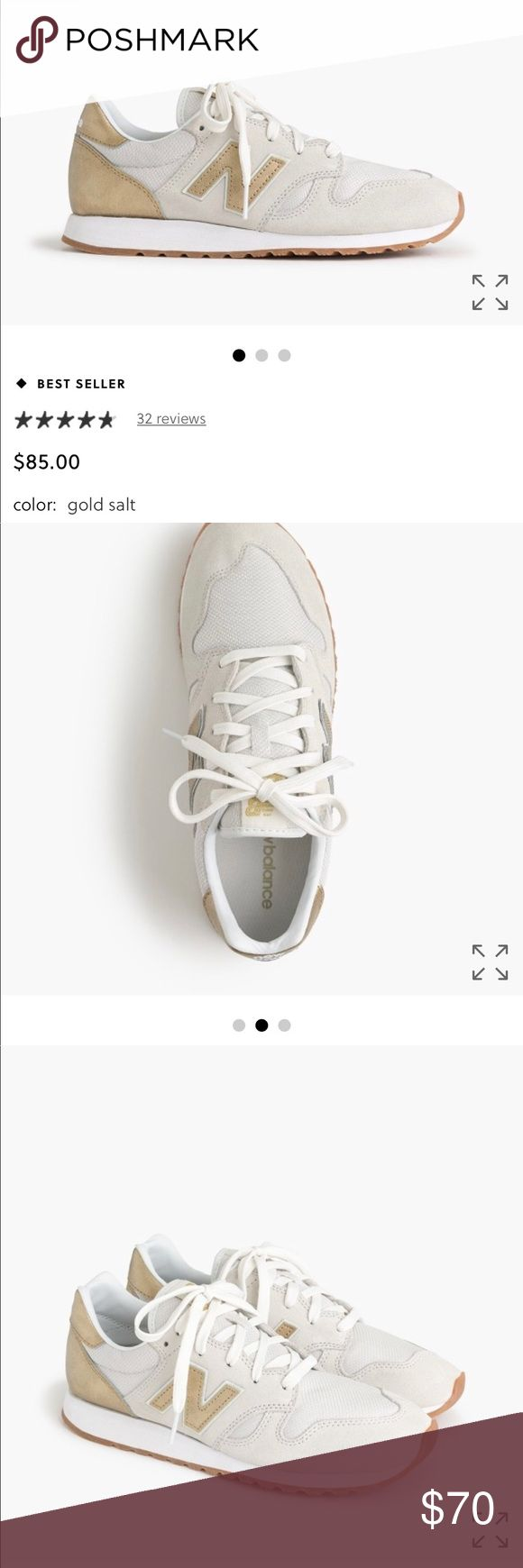 New Balance for J. Crew sneakers Brand new Size 8 sneakers. Retail for $85 at the store and online. New Balance Shoes Sneakers