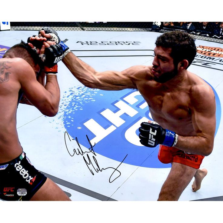 Gilbert Melendez Ultimate Fighting Championship Fanatics Authentic Autographed 16'' x 20'' Throwing Punch Photograph - $49.99