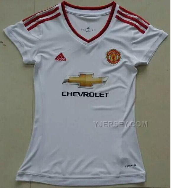 http://www.yjersey.com/1516-manchester-united-away-white-womens-jersey-shirt.html Only$27.00 15-16 MANCHESTER UNITED AWAY WHITE WOMEN'S JERSEY SHIRT Free Shipping!