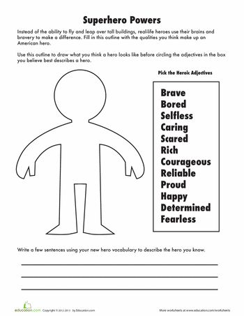 Adjectives to Describe a Hero | The heroes, Strength and ...