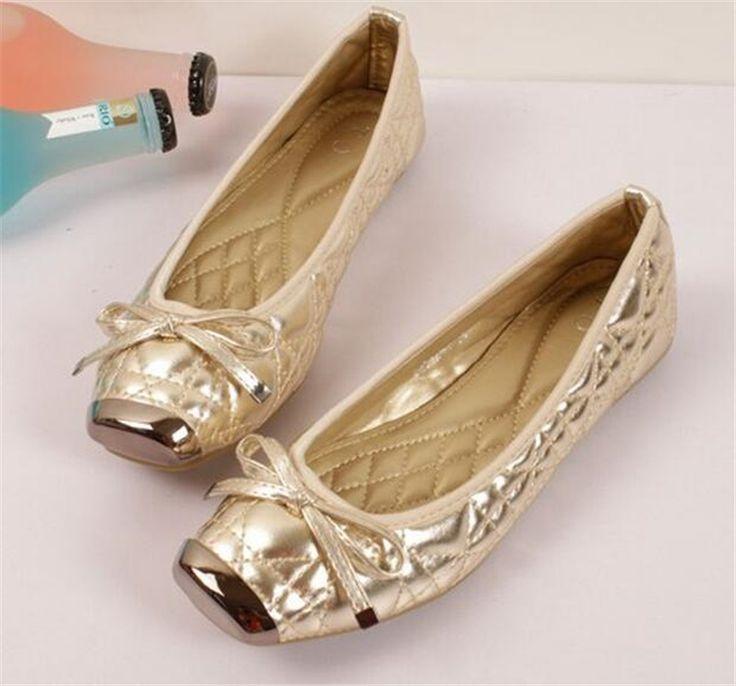 Bis Größe 35-42 Dame Schuhe Ballerinas Frauen Flache Schuhe Frau Ballerinas Schwarz Casual Schuhe Sapato Frauen Müßiggänger Zapatos Mujer //Price: $US $20.29 & FREE Shipping //     #abendkleider