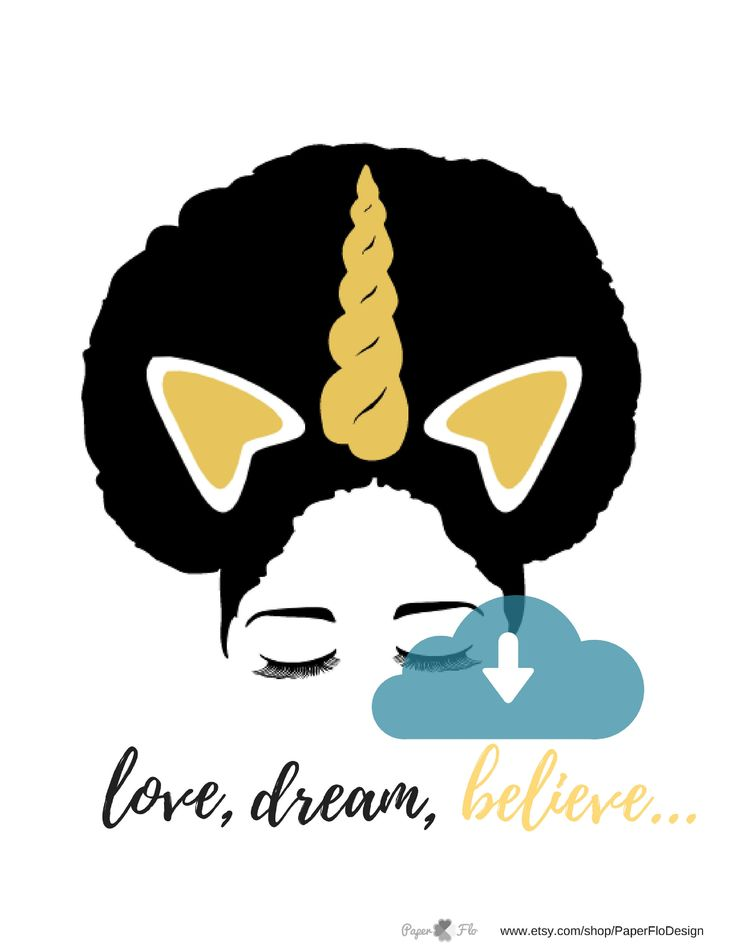 Download Afro unicorn SVG unicorn puff svg unicorn eyelashes ...
