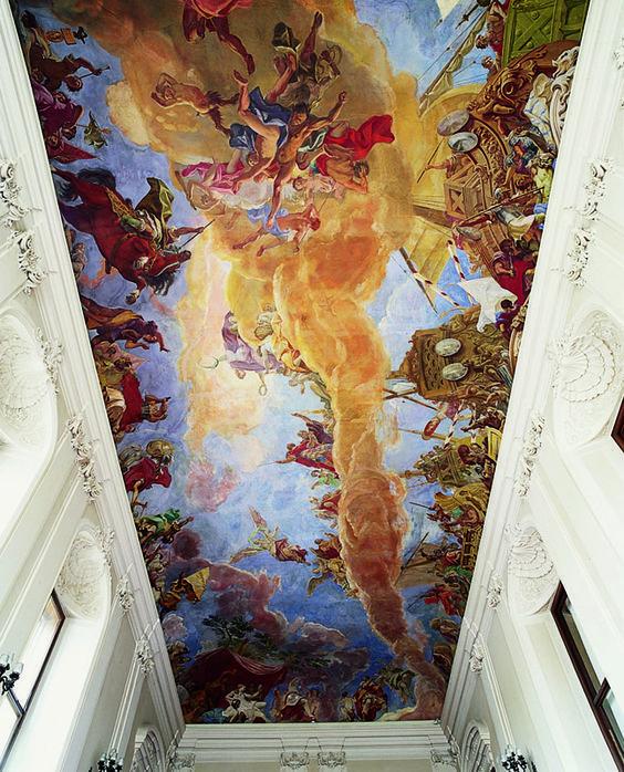 Οροφή Ανακτόρου Σενμπρούν στην Βιέννη
