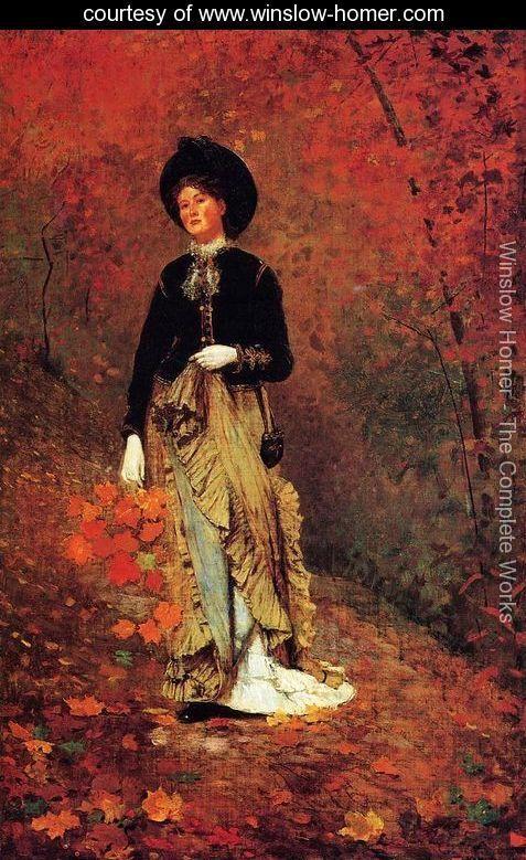 Autumn - Winslow Homer - www.winslow-homer.com