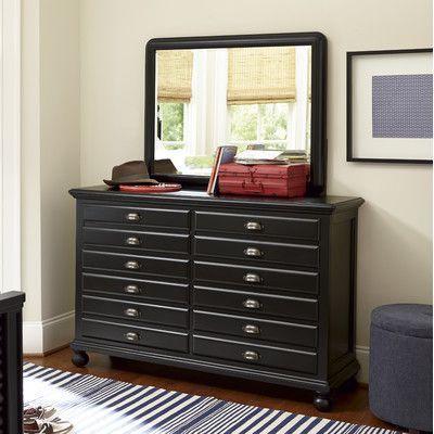 Best Smartstuff Furniture Map 12 Drawer Double Dresser 400 x 300