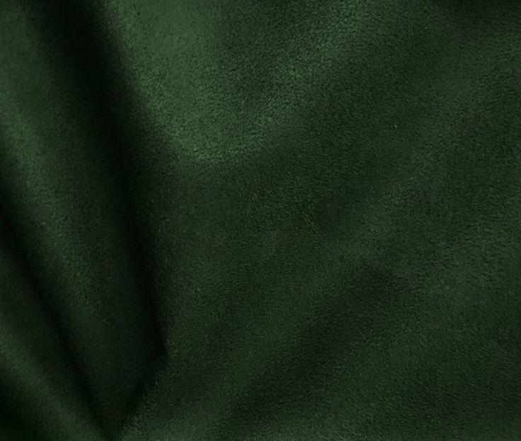 Tecido suede Verde Escuro