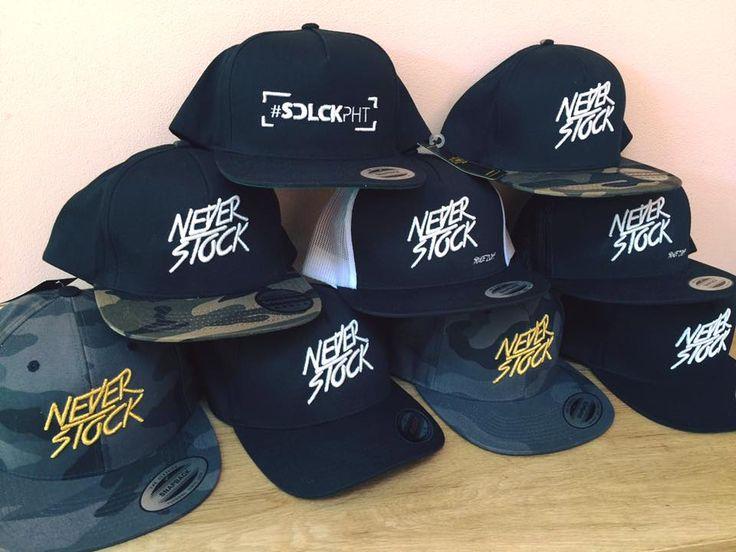 Snapback pro NeverStock Crew jsou již hotové