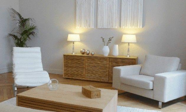 Deco Salon Beige Et Gris Idee Noir Blanc Elegant Best | Therapist office decor, Counseling ...