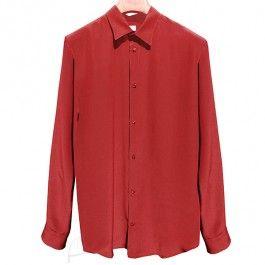 Koszula jedwabna w kolorze birdowym. Do zamówienia w dodolnym rozmiarze i kolorze w butiku latkafashion.com
