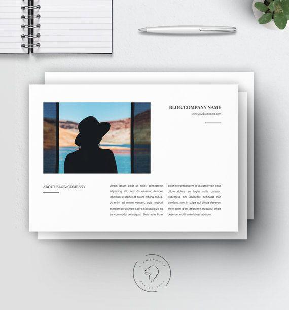 #Media #Kit for #Bloggers