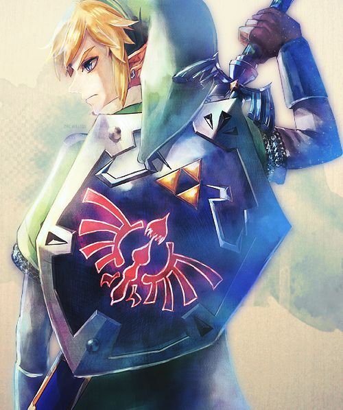 Link from Legend of Zelda- Skyward Sword