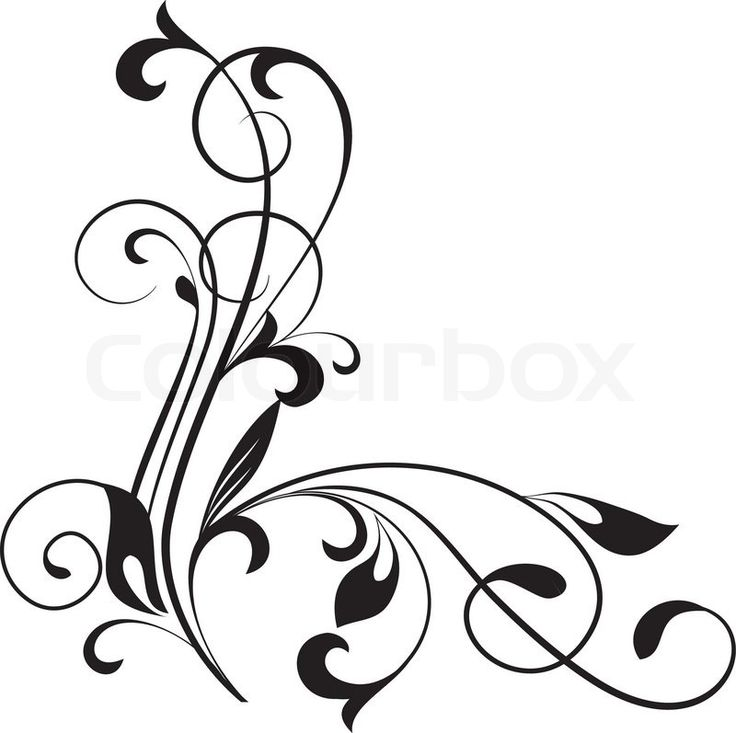 10 best scroll designs images on pinterest tattoo ideas arabesque rh pinterest com  decorative scroll clip art free