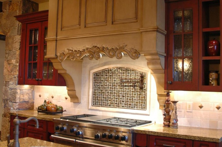 17 best images about anything tuscan on pinterest tuscan for Tuscan style kitchen backsplash