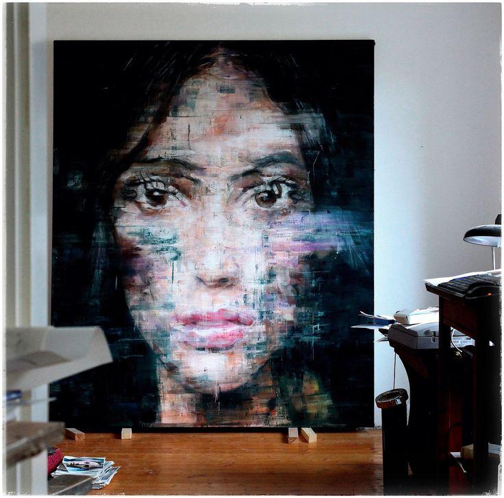 (3-2014) oil on canvas 230x200cm