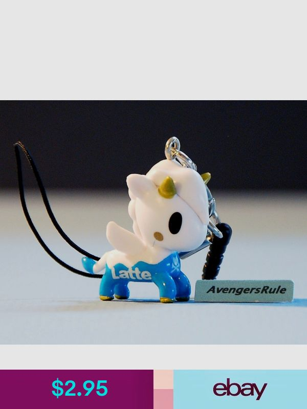 Tokidoki UNICORNO FRENZIES Series 2 SIRENA Zipper Pull Keychain Vinyl Figure
