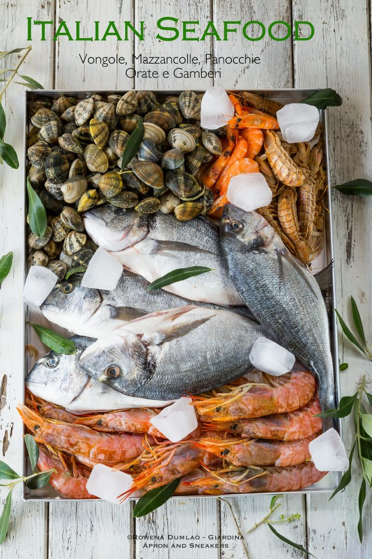 Apron and Sneakers | Italian Seafood