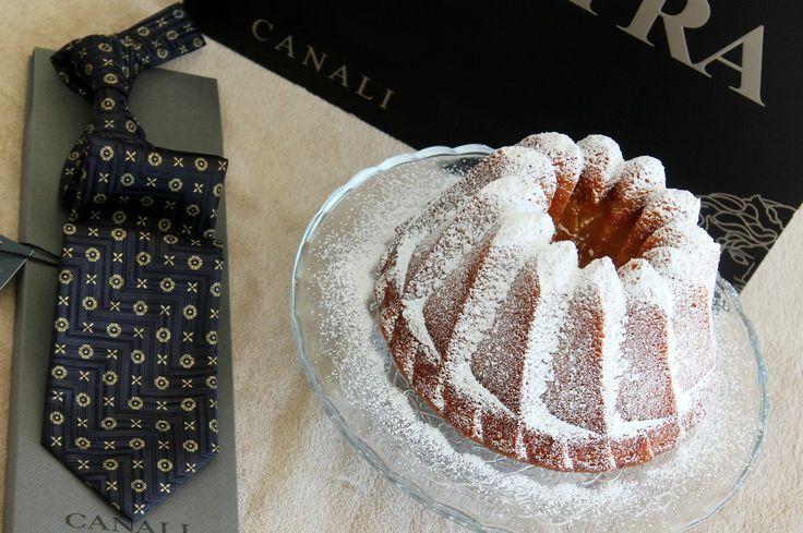 Bundt cake de vainilla y Boutique Sinatra de Palma de Mallorca, sorteo corbata marca italiana Canali.