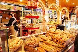 pana y panes en el mercado central