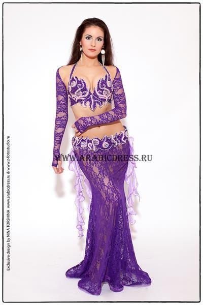 Фиолетовые восточные костюмы