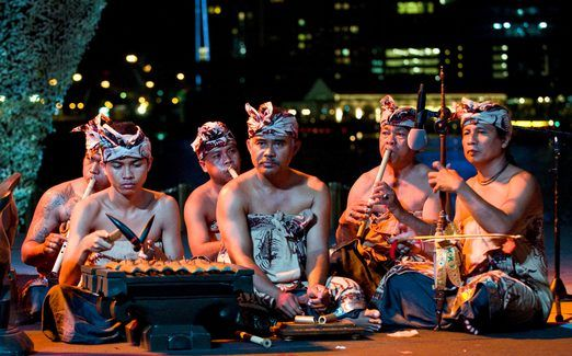 Music from I Wayan Gunastra, along with four other successfully-resurrected ancient tunes, will be performed by Mekar Bhuana during the Bali Arts Festival on July 9, 2013, at the Art Center, Denpasar. The show is free and will be performed on the Ayodya stage. You can learn more about the traditional music and dance of Bali, visit the group's headquarters in Kesiman Kertalangu, Denpasar. Mekar Bhuana Address: Jl. Gandapura III, no. 501X Kesiman Kertalangu Denpasar, Bali #music #musik #Bali