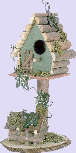 vogelhuisjes Ben gek op vogelhuisjes maar ik woon in een flat op de negende etage!! en heb een kat (-: