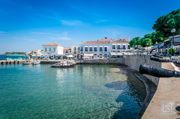 The quiet beauty of Spetses Greece