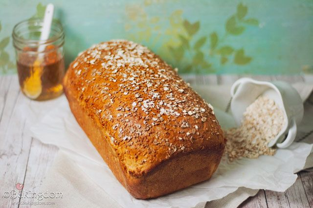 Sweet Honey Oat Bread - This recipe does require the bread to rise ...