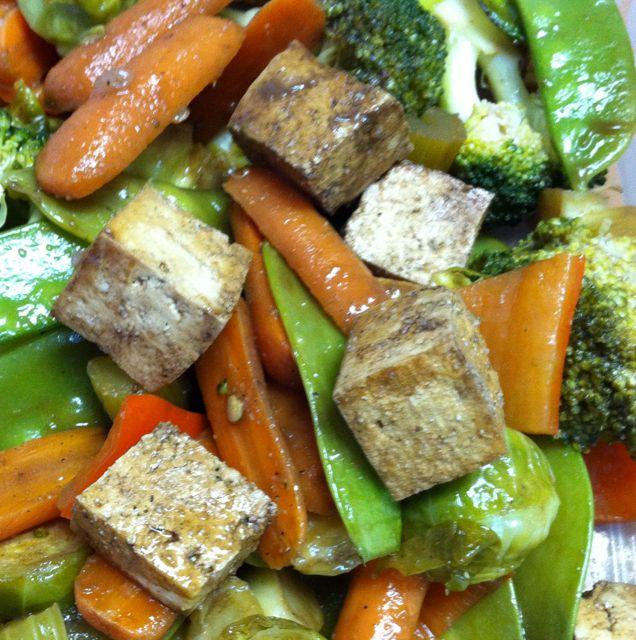 Simple Baked Tofu   Dinner   Pinterest