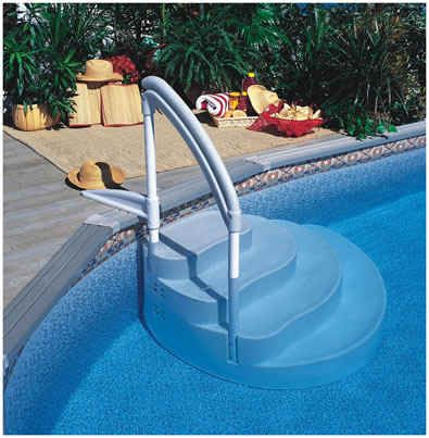 Above ground pool steps for disabled google search garden stuff pinterest pool steps - Above ground pool steps for handicap ...