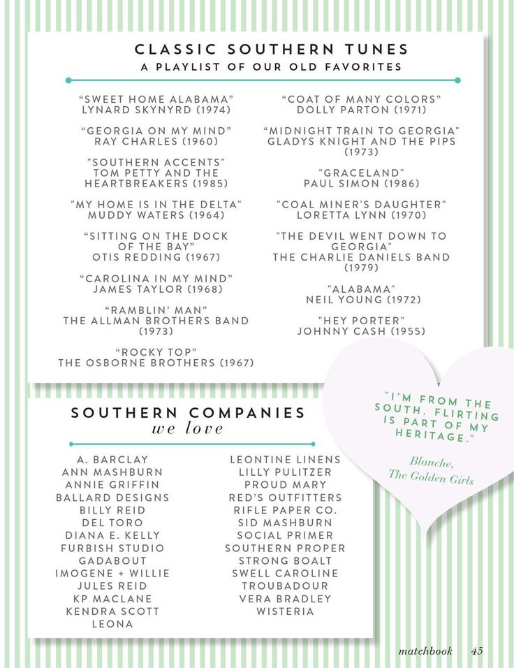 how to be a southern belle Matchbook Magazine, March 2013