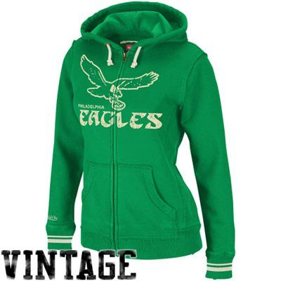 Mitchell & Ness Philadelphia Eagles Womens Dynamite Hoodie - Green