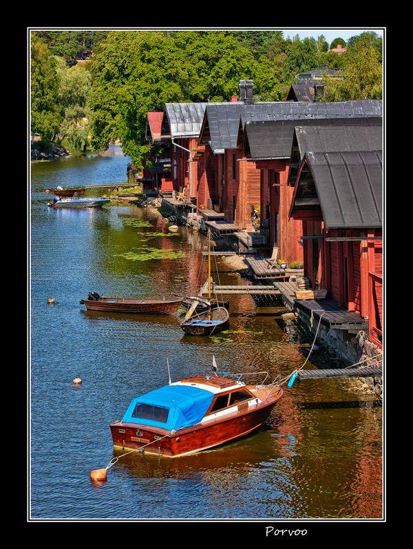 Finland. Was here. Porvoohas a cute little downtown, cobble stone walkways & roads.