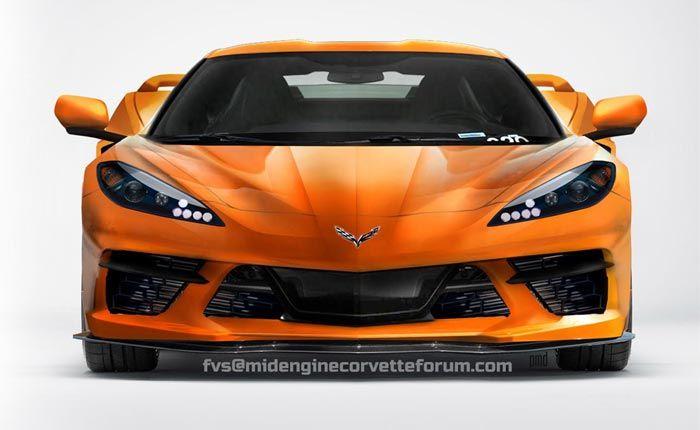 Pics New Front End C8 Corvette Render From Fvs And The Mid Engine Corvette Forum Corvette Corvette For Sale Corvette Stingray