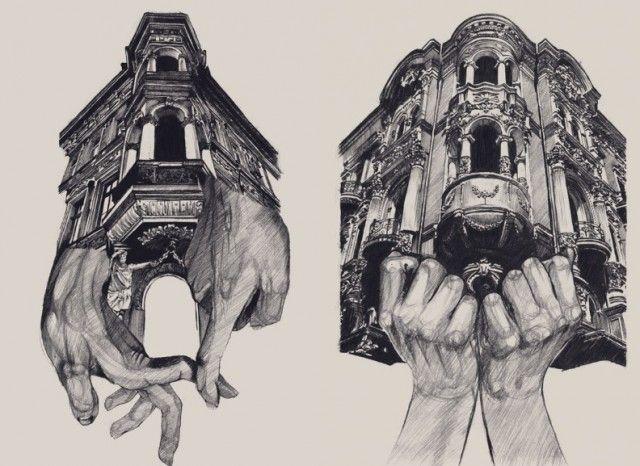 Architecture Drawings – Fubiz™
