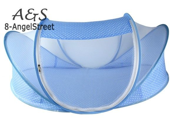 home staging Foldable Portable Baby Infant Bed Canopy Mosquito Net Cotton-padded Mattress Pillow Tent *** Item can be found on www.aliexpress.com by clicking the VISIT button #MosquitoNets
