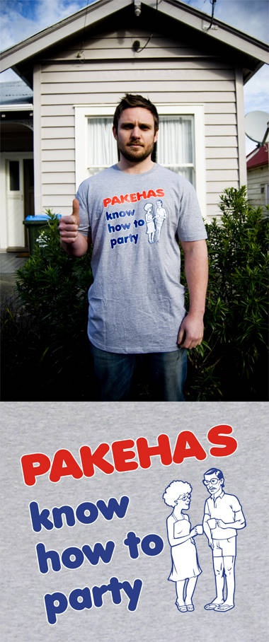 'Pahekas Know How to Party' T-Shirt from Mr. Vintage