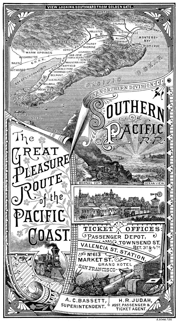 101 best images about southern pacific railroad on