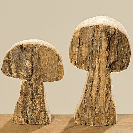Pilz aus Holz #pilz #holz #deko #winter #woodlands #muster