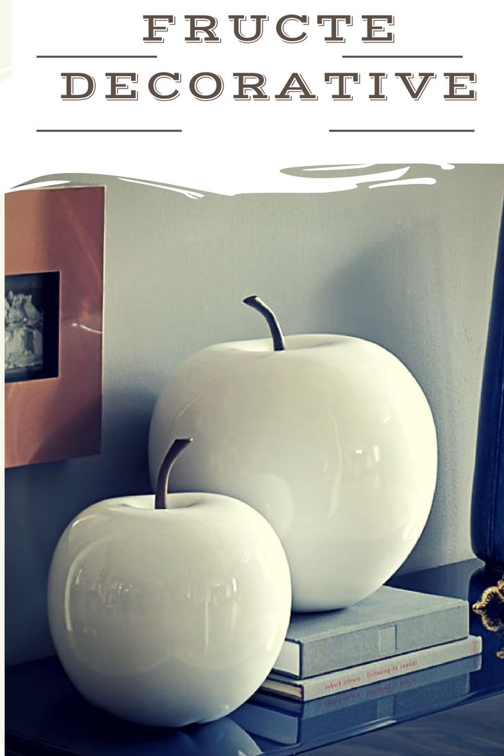 """Vrei un decor """"delicios"""" si plin de culori indraznete ? Fructele decorative sunt perfecte pentru orice fel de interior!"""