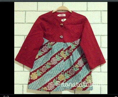 Instagram : nonararabatik Batik blouse top