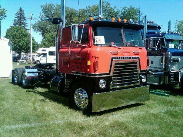 Cabover Trucks For Sale International Cabover Trucks Cabovers Pinterest Rigs Biggest