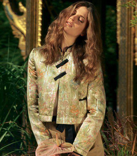 """Burda """"Mandarin Collar jacket"""" 02/2012 magazine issue"""