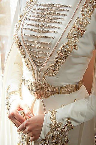 Crimean Tatar wedding dress