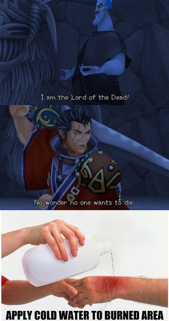 Video game irony